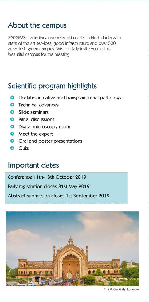 Renal Pathology Society - Events